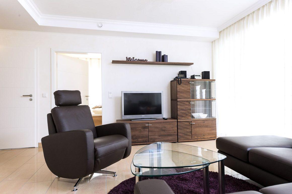 Wohnzimmer Fewo Sevilla