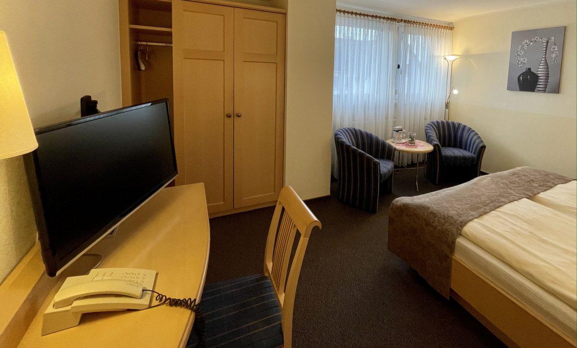 Unsere Zimmer sind mit Flachbildschirmen ausgestattet
